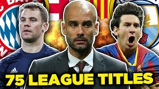 Pep Guardiola's Greatest Ever XI!   Messi, Neuer & Dani Alves