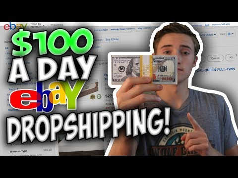 How To Make $100 A Day FAST Online With Ebay Dropshipping!