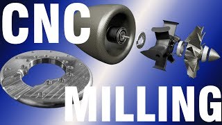 CNC MACHINING for the ELECTRIC JET ENGINE