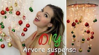 DIY - Arvore de Natal Suspensa / Thábatta Campos