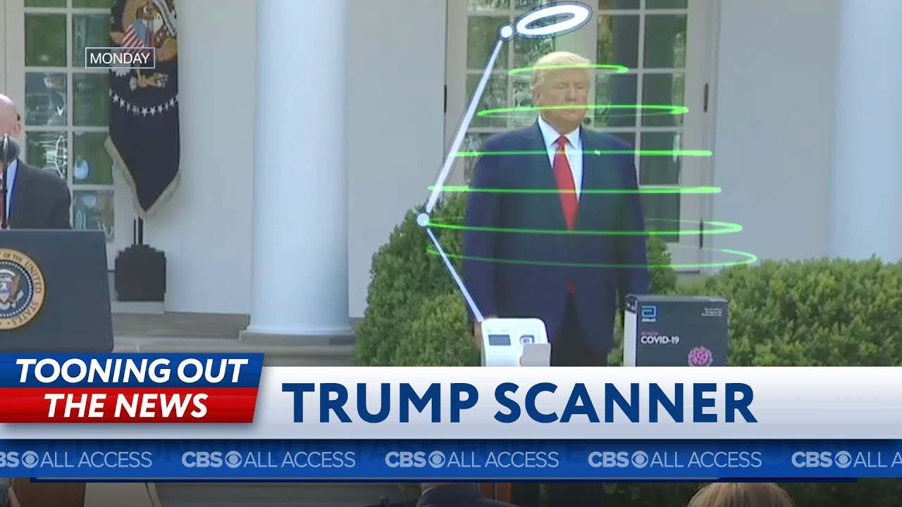 President Trump unveils the latest in medical testing technology
