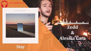 Zedd, Alessia Cara - Stay [8d audio]
