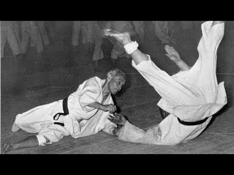 God of Judo part 2. Rare record. Mifune Kyuzo 10 dan. Training of throws.