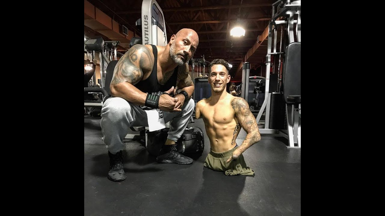 "Nick Santonastasso & Dwayne "" The Rock"" Johnson"