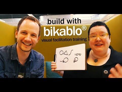 Frank Wesseler's quick demo of the bikablo method | visual facilitation training