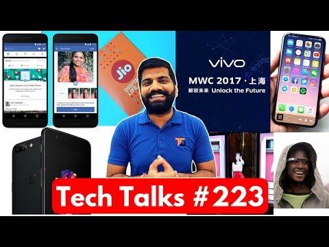 Tech Talks #223 - Vivo Dhamaka, Jio Delivery, Oneplus 5 India, LG V30, Whatsapp News