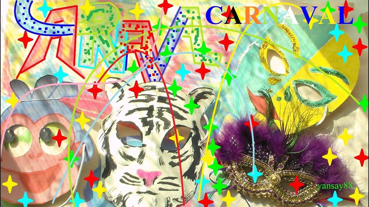carnaval masque de tigre fabriquer mod le gratuit maternelle youtube. Black Bedroom Furniture Sets. Home Design Ideas