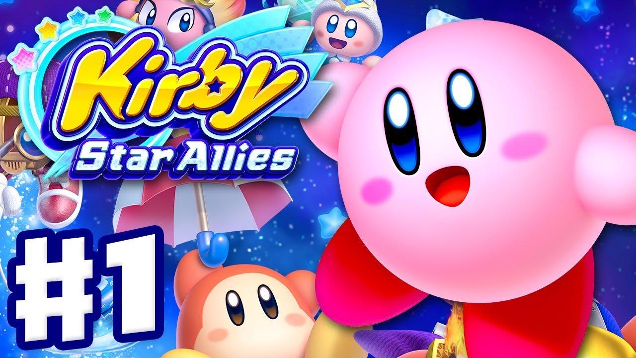 Download Kirby Star Allies - Gameplay Walkthrough Part 1 - Dream Land 100%! (Nintendo Switch)