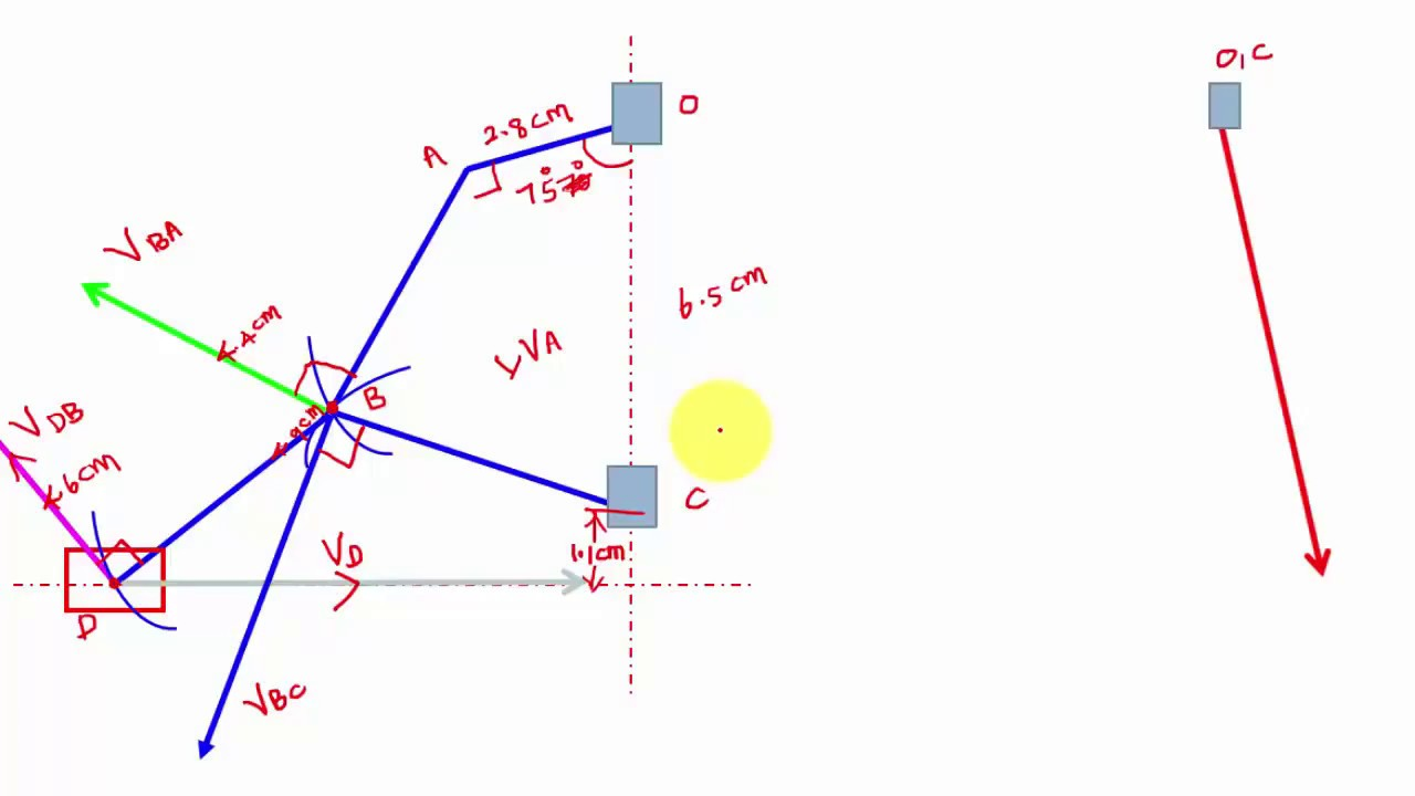 small resolution of lecture 2 3 velocity diagram of complex mechanism