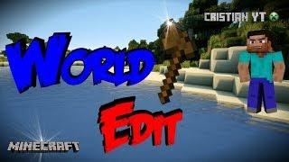 Como Descargar e instalar WorldEdit para Minecraft!!!![single player commands][Tutorial]