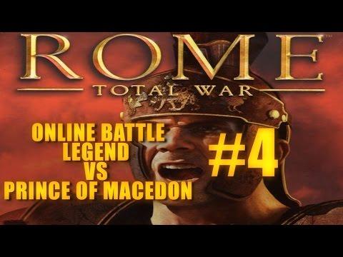 LEGEND vs PRINCE OF MACEDON - Rome Total War Online Battles #4