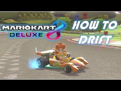 Mario Kart 8 Deluxe How To Drift