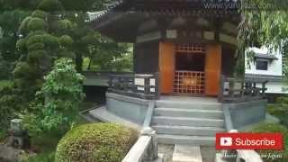 307. Passing The Bridge In Japanese Garden At Shooji - Sendai City, Japan