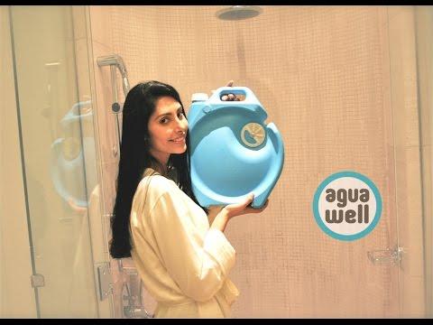Con Aguawell fai la doccia senza sprecare acqua