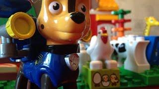 Щенячий патруль на ферме Lego