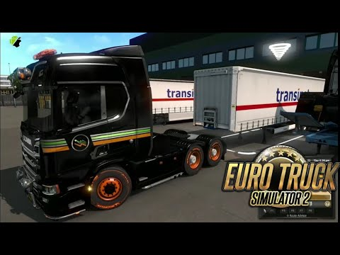 Euro Truck Simulator 2 Game - Cargo Delivery - 4x4 Truck Game #Eurotrucksimulator2 #truckgame
