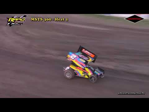 MSTS 360 Heats - Rapid Speedway - 5/18/18