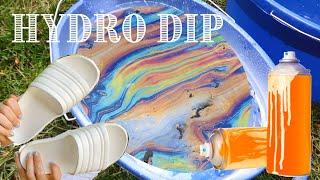 DIY HYDRO Dipping Slides! *SATISFYING*