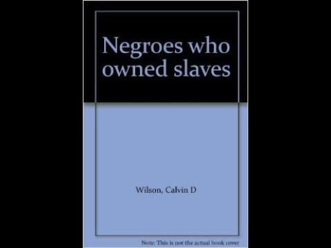 NEGRO SLAVE OWNER, AND SURNAME DATA BASE