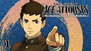 WHERE IT ALL BEGAN - Let's Play - The Great Ace Attorney (DGS) - 1 - Walkthrough and Playthrough