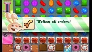 Candy Crush Saga Level 859 walkthrough (no boosters)