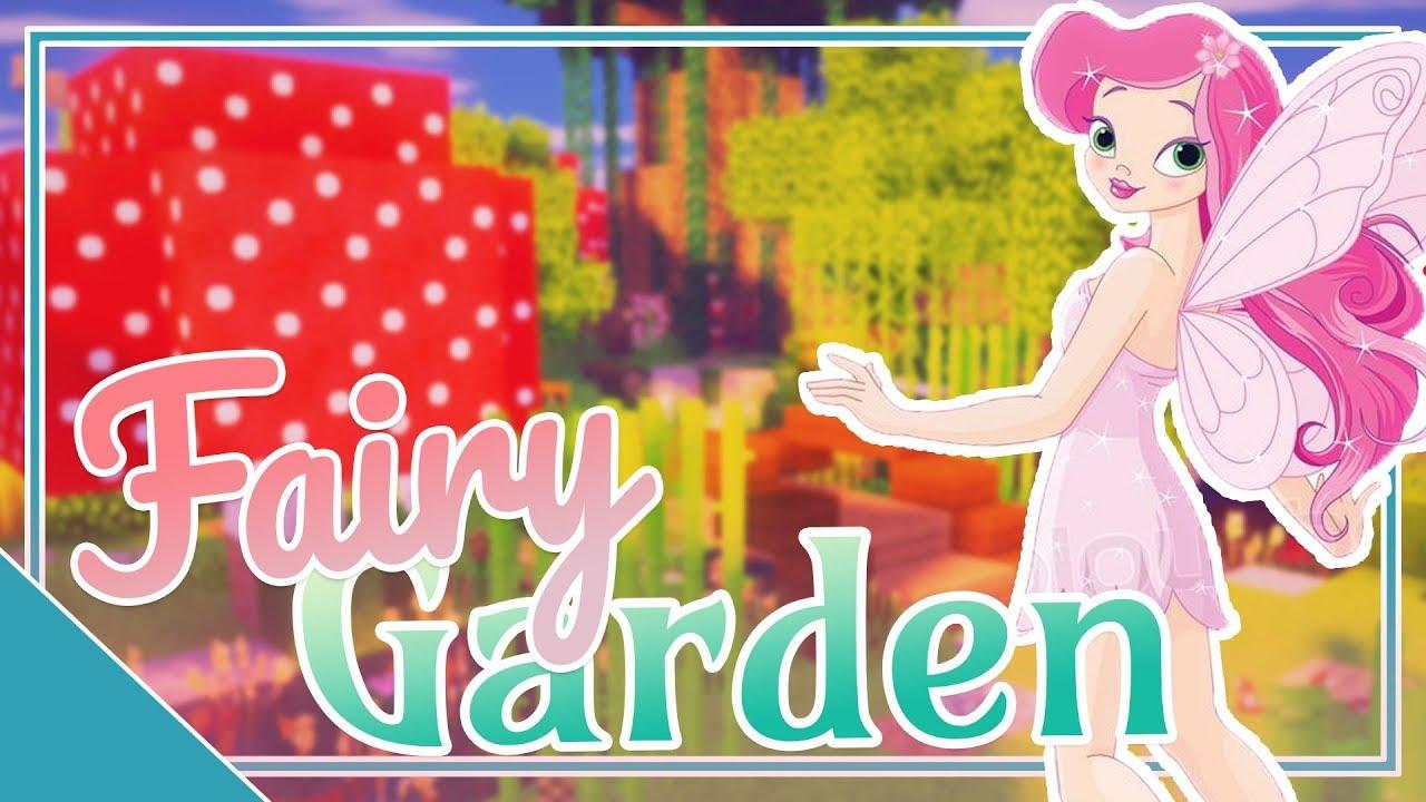 Minecraft Fairy Garden Speed Build