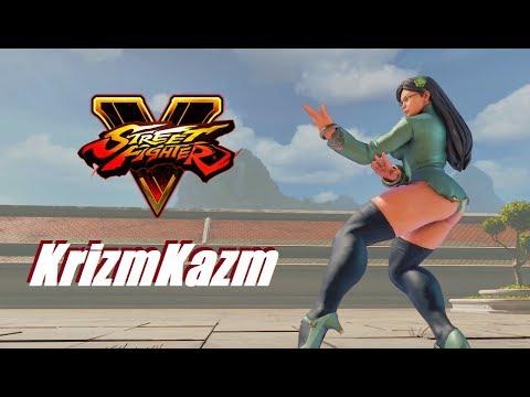 Street Fighter 5 mods Krizm Kazm Chun li C7