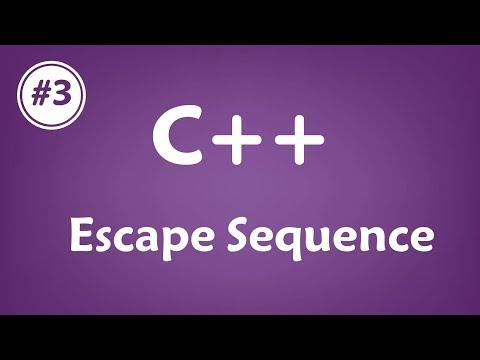 #03 [c++] - Escape Sequence
