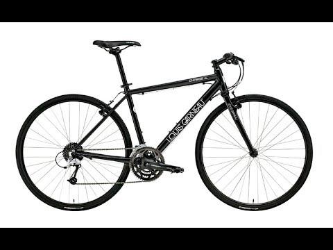 Xe đạp touring Louis Garneau LSG CHASSE Black