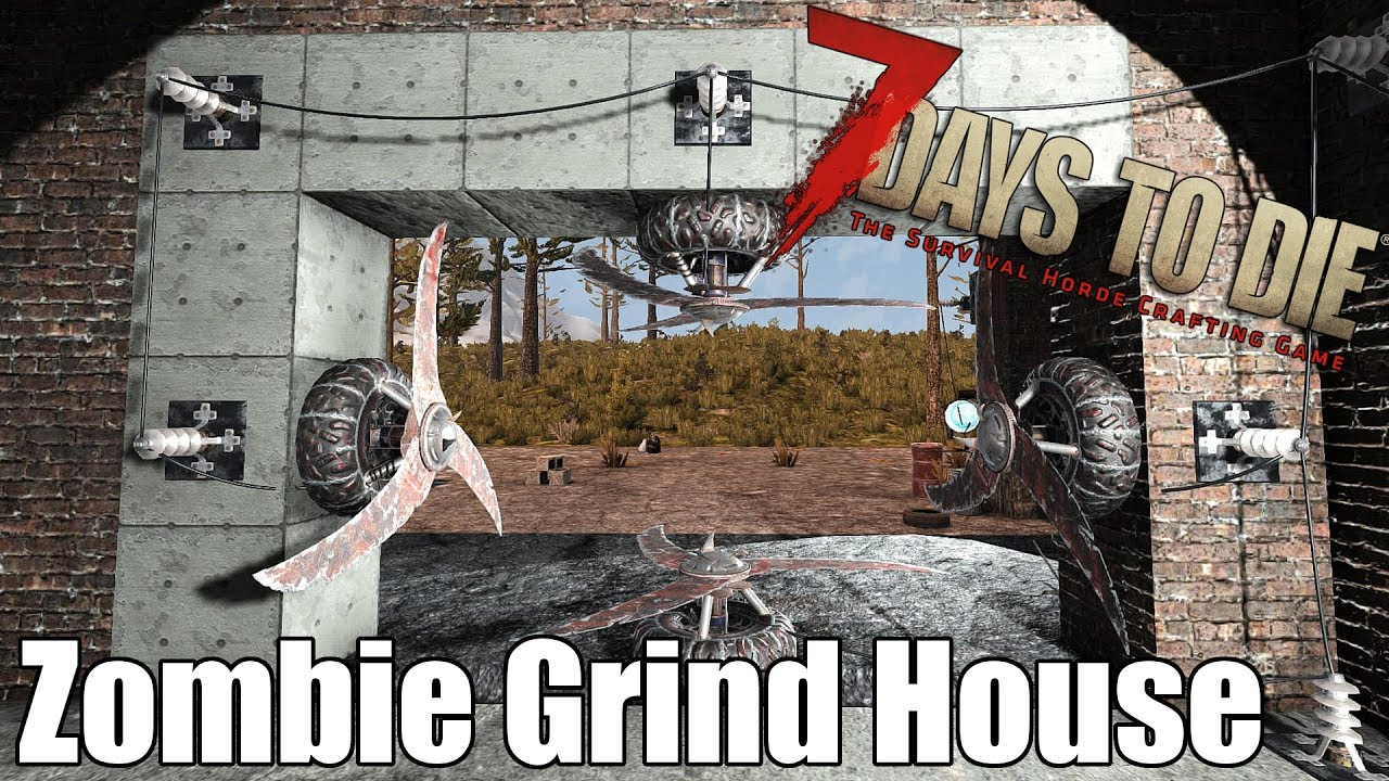 7 days to die how to make an auger blade