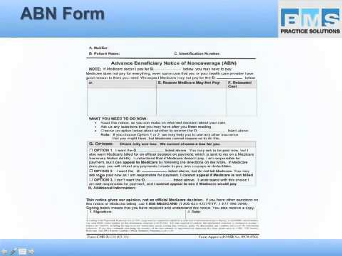 Advanced Beneficiary Notice (ABN) Update 2013 - YouTube