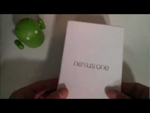 Nexus One Unboxing (3 Years Later)