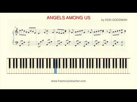 "How To Play Piano: ""Angels Among Us"" by Alabama"