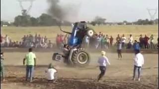 Amazing stunt with Tractor-Must watch: Whats app Funny video