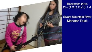 Audrey & Kate Play ROCKSMITH #332 - Sweet Mountain River - Monster Truck ロックスミス