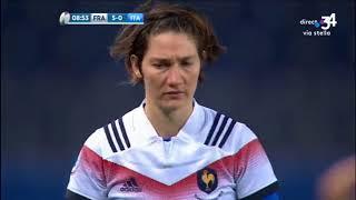 Tournoi des Six nations féminin : la France écrase l'Italie à Bastia