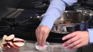 How To Make Caramel Apple Pork Chops:  Ohio Pork - Episode 10