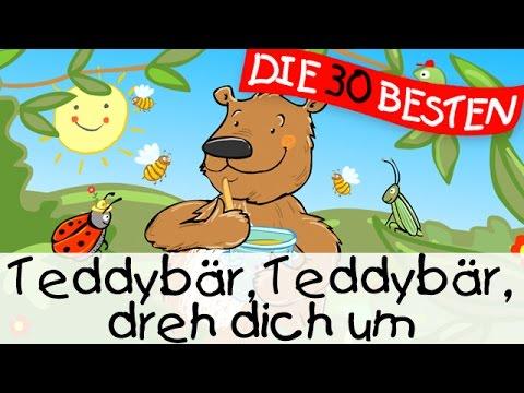 Teddybär Teddybär dreh dich um - Bewegungslieder zum Mitsingen    Kinderlieder