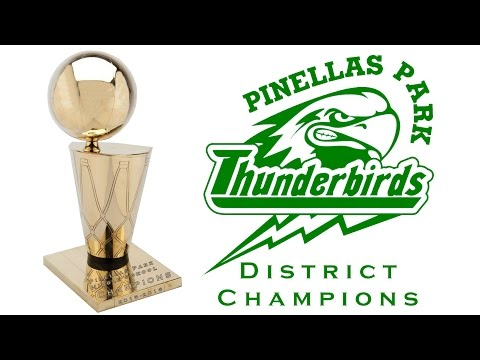 Pinellas Park Middle School Basketball 2015-2016 District Champions