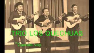 Trio Los Quechuas   Cuando voy por la calle   Colección Lujomar
