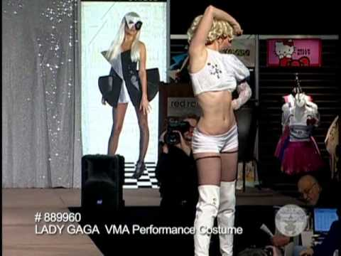 Halloween Lady Gaga VMA Costume Outfit