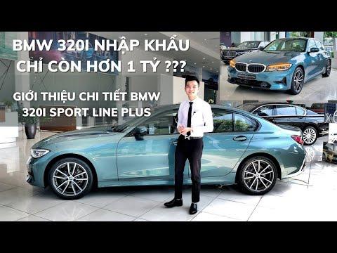BMW 320i giảm còn hơn 1 tỷ | Giới thiệu BMW 320i Sport Line Plus nhập khẩu | BMW Hải Phòng