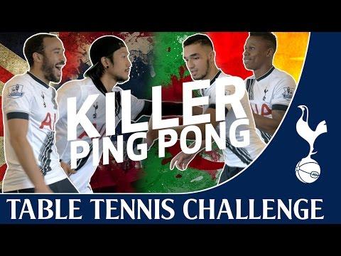 Killer Ping Pong feat. Clinton, Townsend, Bentaleb & Toon | Spurs TV