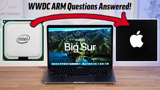 Apple's move from Intel to ARM Silicon Chips Explained!