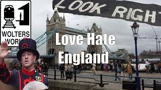 Visit England - 5 Things You Will Love & Hate About Visiting England