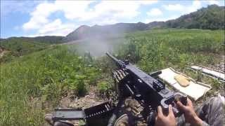 Firing M2, MK19, and M240 weapon systems