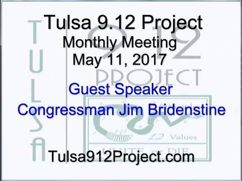 Tulsa 9.12 Project Monthly Meeting - Rep. Bridenstine - 5/11/17