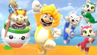 Super Mario 3D World + Bowser's Fury - True Final Boss + All Endings