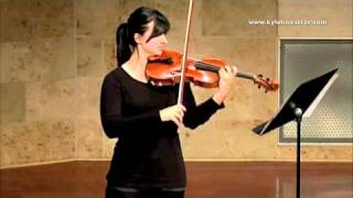"Kyle Hovatter: ""Legacy for Jack"" Solo Viola (2010) Kristin Zimmerman, viola Thumbnail"