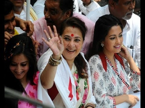 Lok Sabha Election: Moon Moon Sen wins in Bankura - IANS India Videos